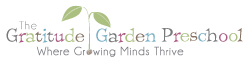 The Gratitude Garden Preschool Logo